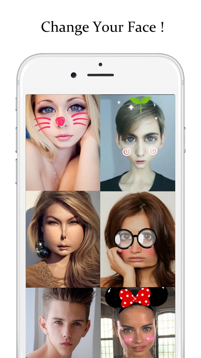 Face Booth Live - Change your face + voice, make crazy videos Screenshot