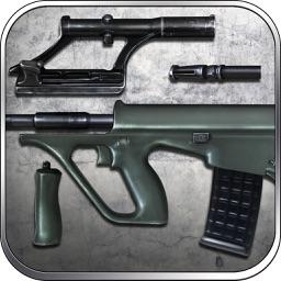 AUG Assault Rifle: Sniper Games - Lord of War