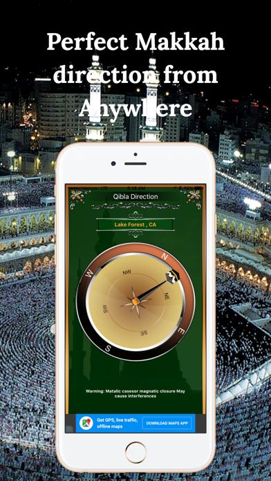 Qibla Compass-Find НаправлениеСкриншоты 1