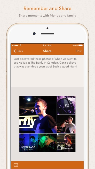Momento - Private Diary / Daily Journal Screenshot