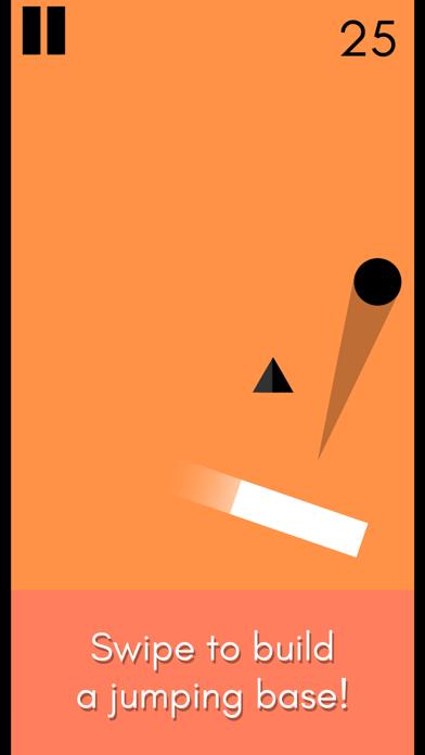 Rocket Ball - Endless Jump screenshot one