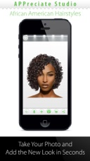 African American Women HairstylesChange Your Hair On The App Store - Best hairstyle app ipad