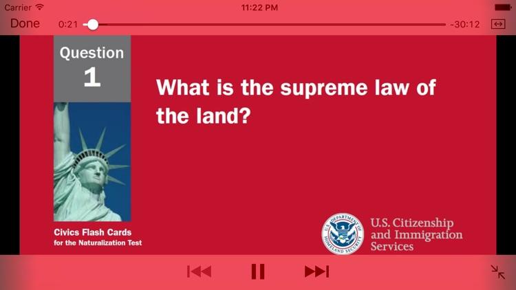 US Citizenship Test Audio 2019 screenshot-4