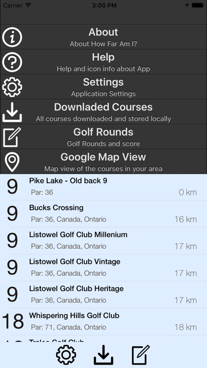 How Far Am I? - GPS Golf Rangefinder Application screenshot-3