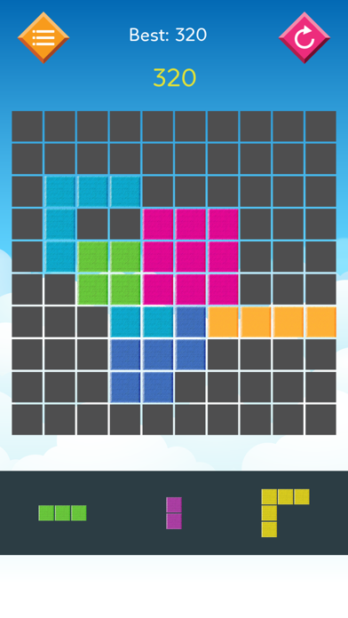 Slither Block Puzzle Grid: Snake cube triangle - block