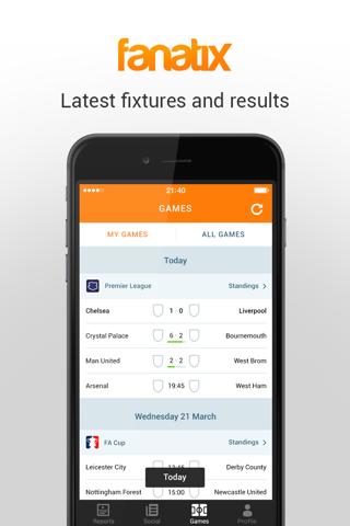 fanatix - Sports Video News screenshot 2