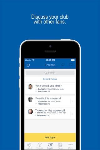 Fan App for England Football - náhled