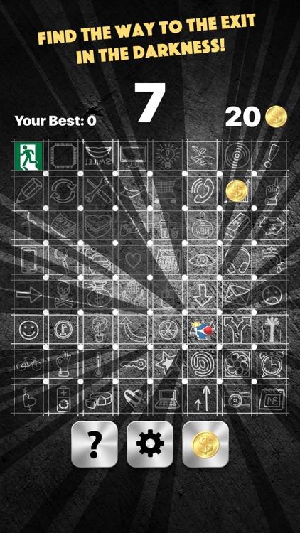 Dark Maze - brain challenging game