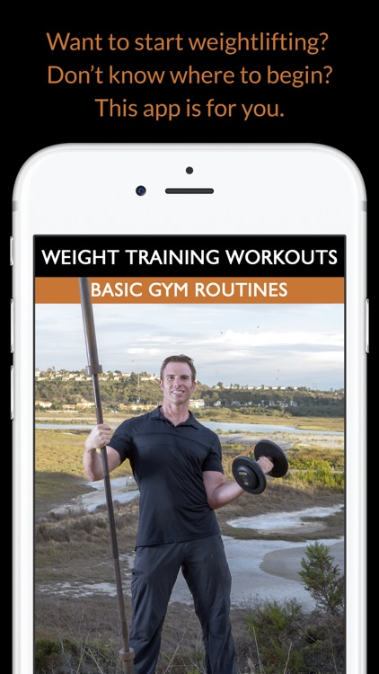 Weight Training Workouts: Basic Gym Routines for Bodybuilding & Fitness screenshot-0