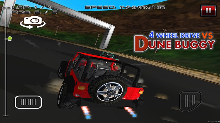 4 Wheel Drive Vs Dune Buggy - Free 3D Racing Game screenshot-4
