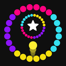 Steppy Jump Circle Color - Switch Spinny Balls On Wanted Road