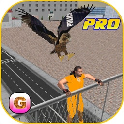 Police Eagle Prisoner Escape Pro - Control City Crime Rate Chase Criminals, Robbers & thieves