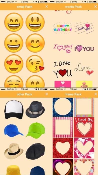 Bobblehead - Emoji Fun Stickers, Photo Frames Borders, Face Swap Mask screenshot three