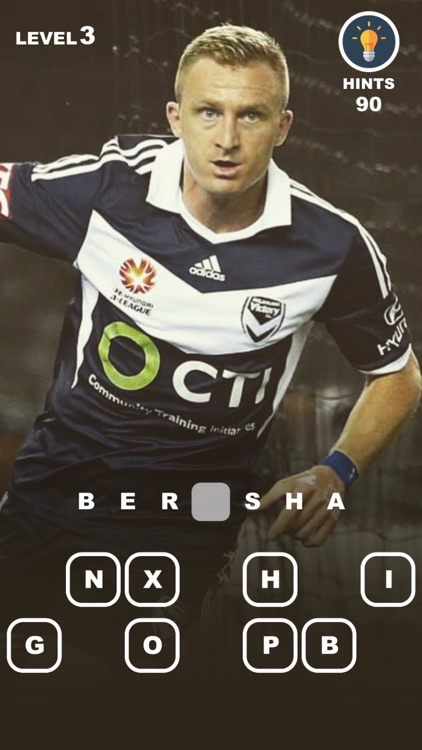 Guess Football Players - a game for A-League fans