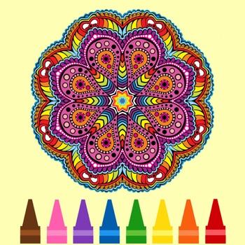 Kleurplaten Kleuren Spelletjes.Mandala Kleuren Spel Kleurplaat Leren Tekenen Spelletjes App Voor