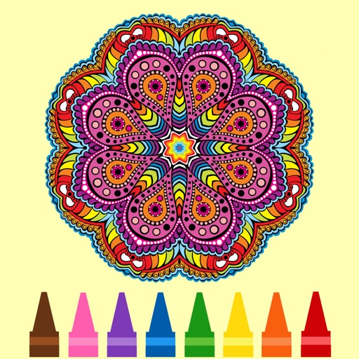 Mandala Adult Coloring Book for Stress Relief Free Printable