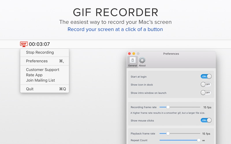 Gif Recorder - Record Your Screen Screenshot