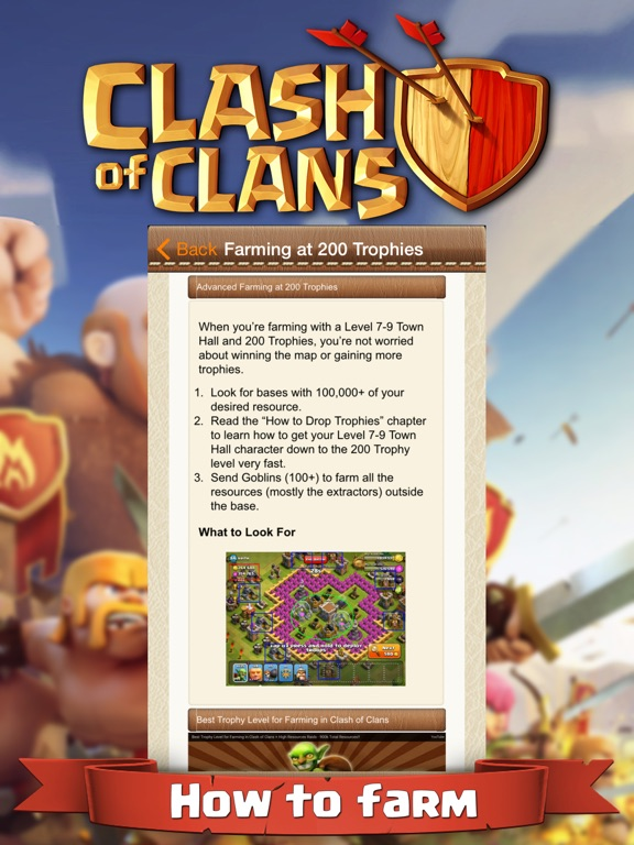 Strategy Guide for Clash Of Clans screenshot