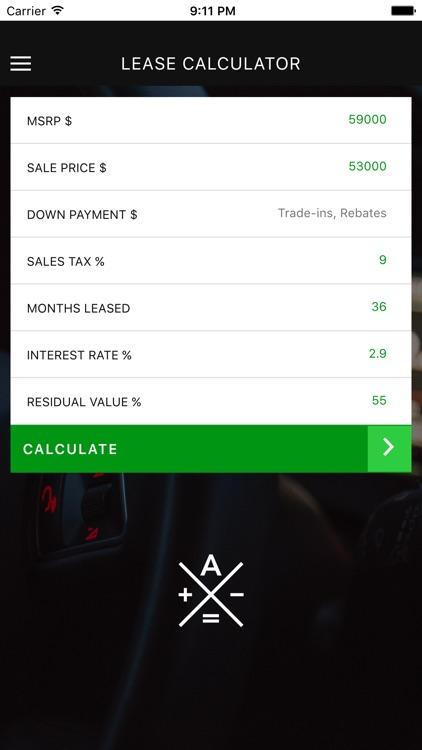 Auto Lease Calculator >> Auto Lease Calculator By Steven Ng