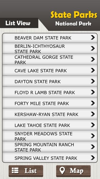 Nevada State Parks & National Park Guide screenshot-2