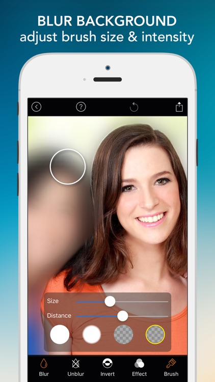 Blur Photo Effect - Touch to Edit Image Background, Hide or Censor Face with Blurred, Mosaic & Pixelated Filters