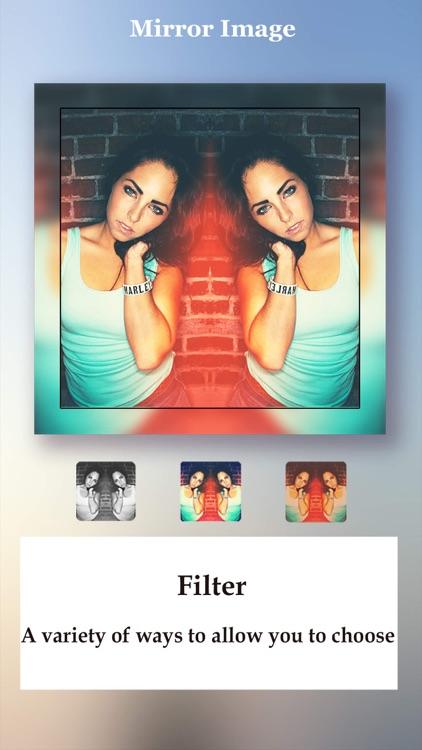 Mirror Image HD - Photo Mirror  and Photo Blur Effect