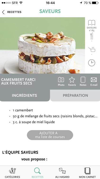 Veggie par Saveurs, plus de 700 recettes végétariennes pour se faire plaisir screenshot-4