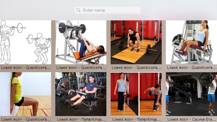 Bodybuilding Exercises Database