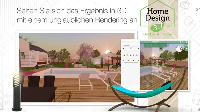 Home design 3d outdoor garden im app store for Home design 3d outdoor garden 4 0 2