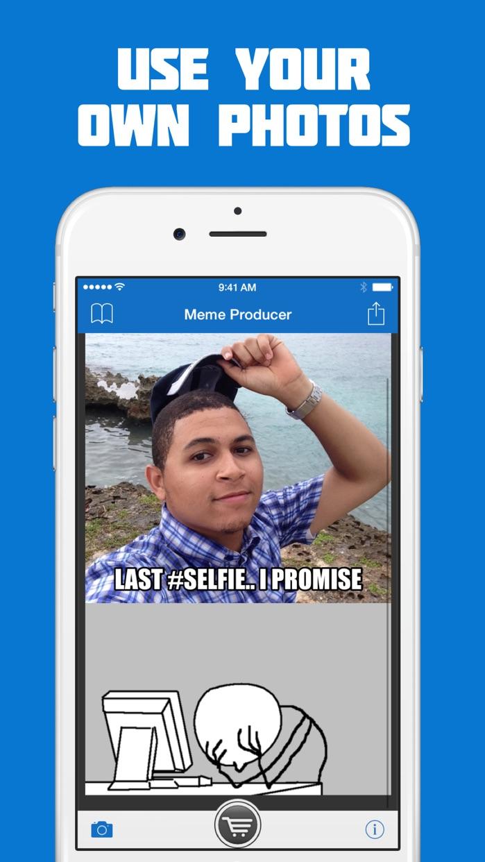 Meme Producer - FREE Meme Maker/Generator Screenshot