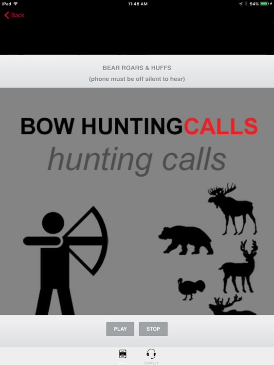 Bow Hunting Calls - Premium Hunting Calls For Archery Hunting Success -- BLUETOOTH COMPATIBLE screenshot-3