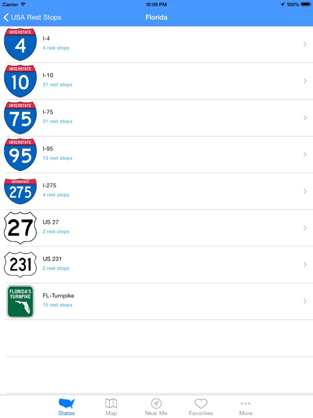 Usa rest stops on the app store publicscrutiny Choice Image