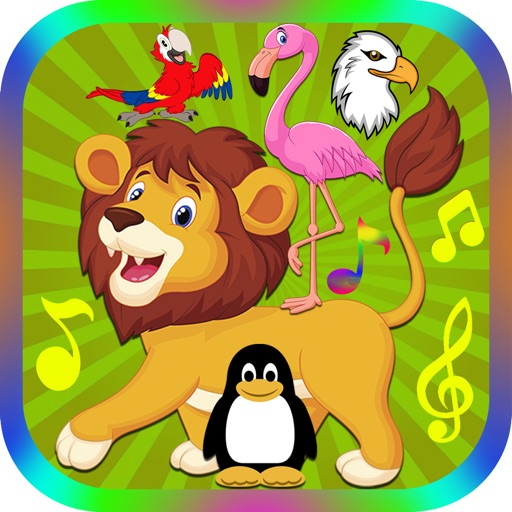 Animal Chatter Sound Effects Button: Funny Sounds for Baby and Toddler Preschool Learning