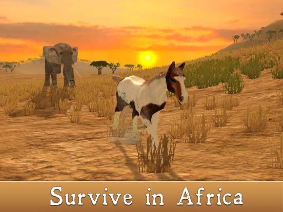 wild african horse animal simulator 2017 app price drops
