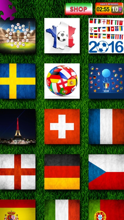 Euro Cup 2016 Puzzle Game – European Football Championship in France Picture Jigsaw Puzzles screenshot-4