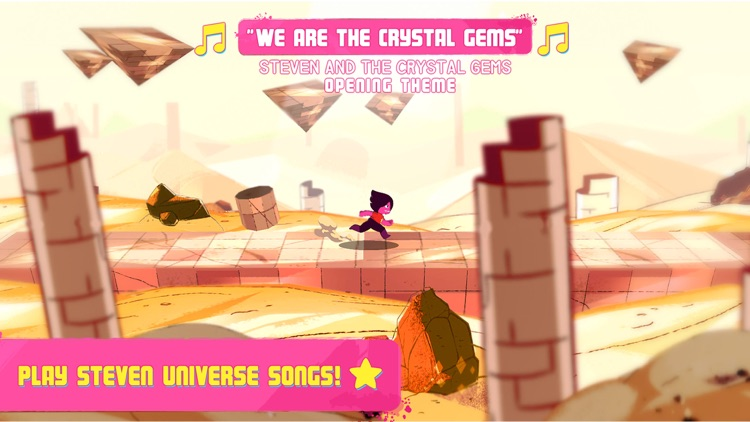 Soundtrack Attack - Steven Universe Rhythm Runner screenshot-3