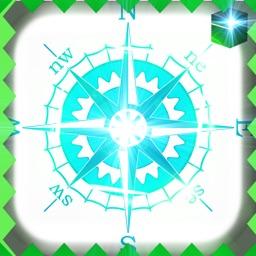 Simple Qibla Compass-Free