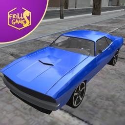 Vintage Fast Speed Car: Need for Asphalt Driving Simulator