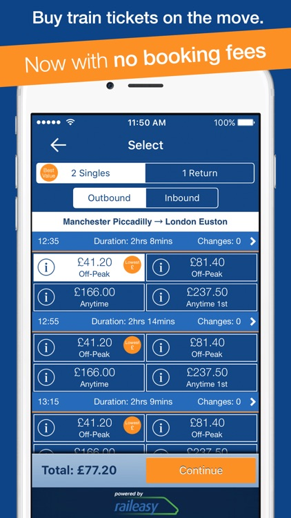 myTrains Pro train times and tickets screenshot-0