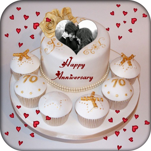 Name And Photo On Anniversary Cake App Data Review Photo Video
