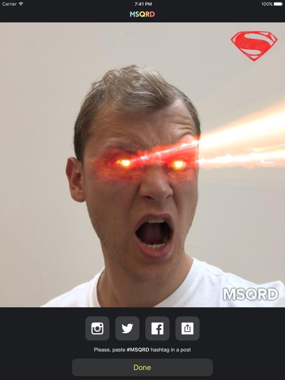 MSQRD — 自撮りビデオ用のライブフィルターとフェイススワップのおすすめ画像5