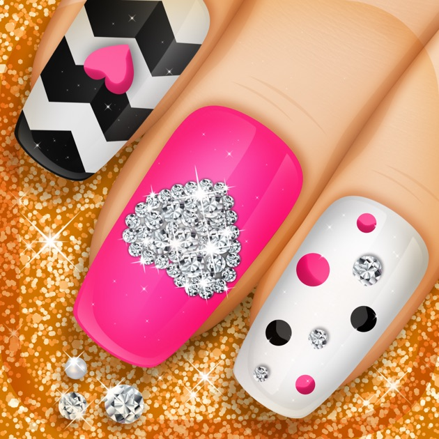Nail manicure games for girls beauty makeover ideas and fashion nail manicure games for girls beauty makeover ideas and fashion nail designs on the app store prinsesfo Choice Image