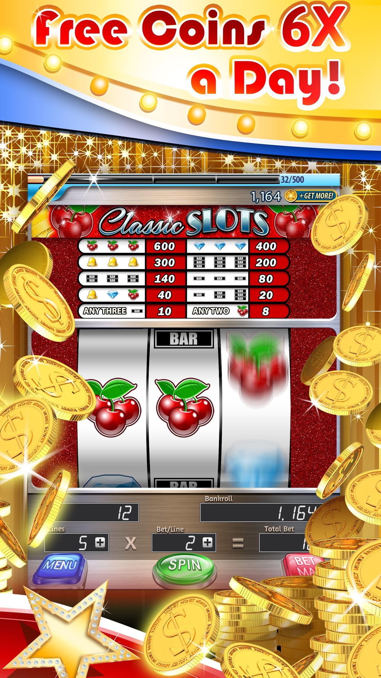 3 Reel Slots Deluxe