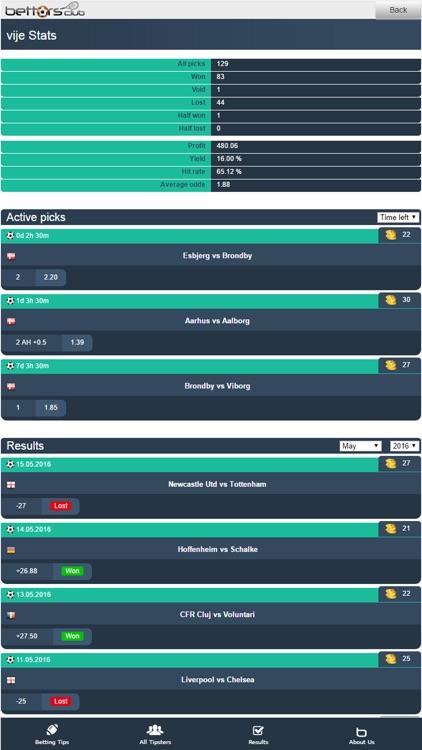 Bettors Club - Betting Tips screenshot-3