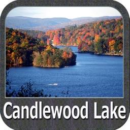 Candlewood Lake Connecticut GPS Map Navigator