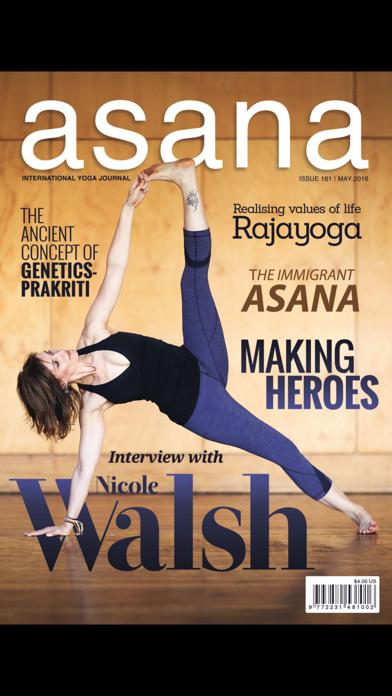Asana International Yoga screenshot one