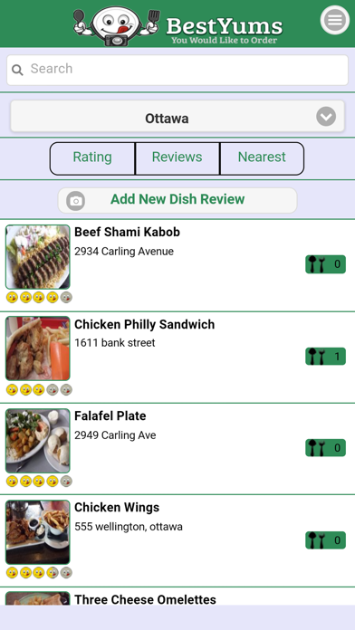 BestYums - Find Top Meals,Tasty Dishes,Foodie Eats screenshot one