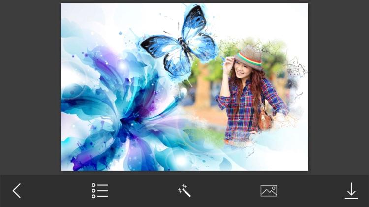 Abstract Photo Frames - Instant Frame Maker & Photo Editor screenshot-3