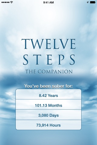 12 Steps Companion screenshot 1