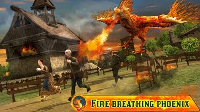 Angry Phoenix Revenge 3D screenshot one